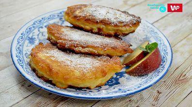 Sprawdzony przepis na smaczną przekąskę. Kokosowe racuchy z jabłkami