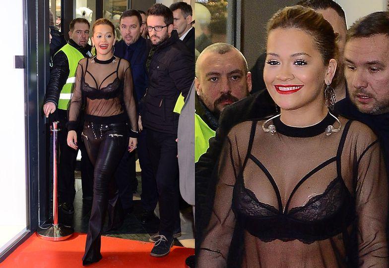 Rita Ora przyleciała wczoraj do Polski