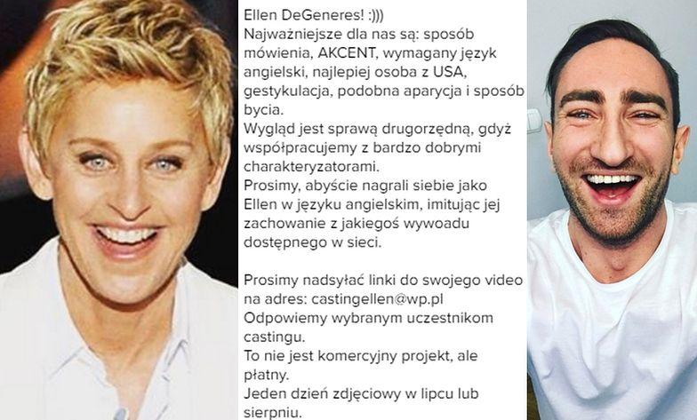 Łukasz szuka Ellen