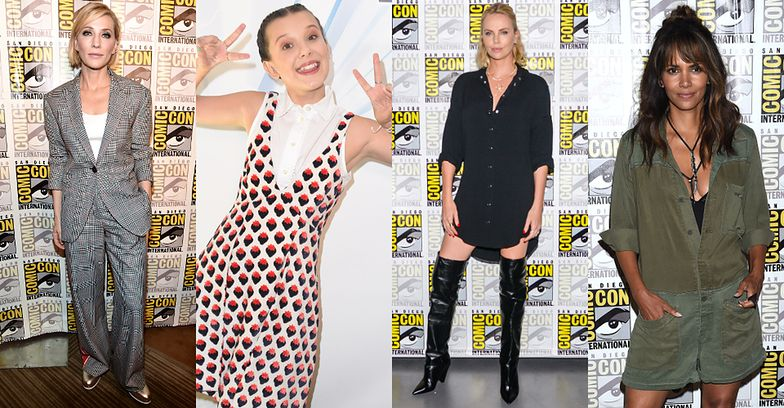 Cate Blanchett, Millie Bobby Brown, Charlize Theron i Halle Berry