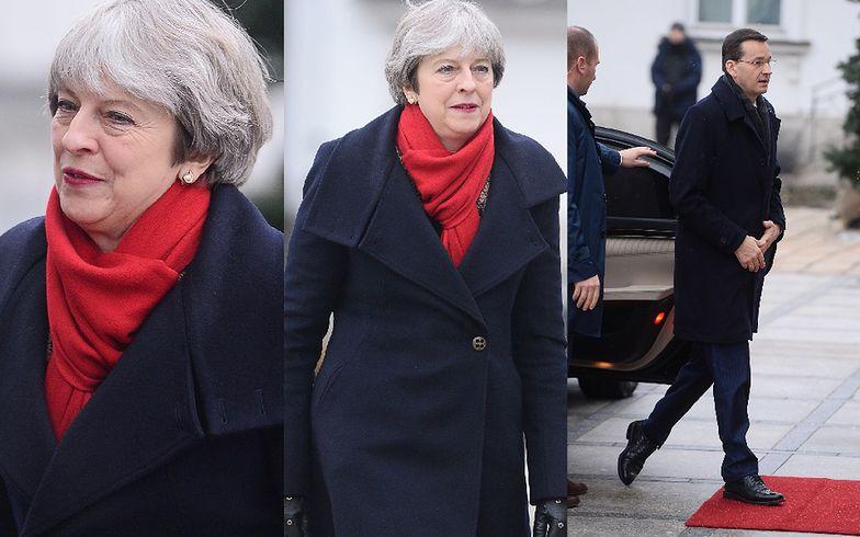 Theresa May spotkała się z Mateuszem Morawieckim