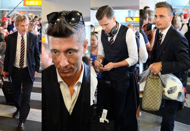 Piłkarze wrócili do kraju
