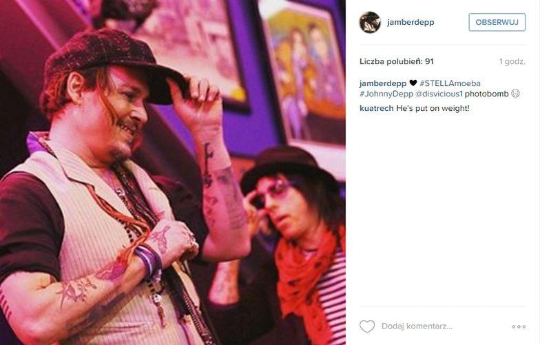 Koncert po pokazie jesiennej kolekcji Stelli McCartney: Johhny Depp