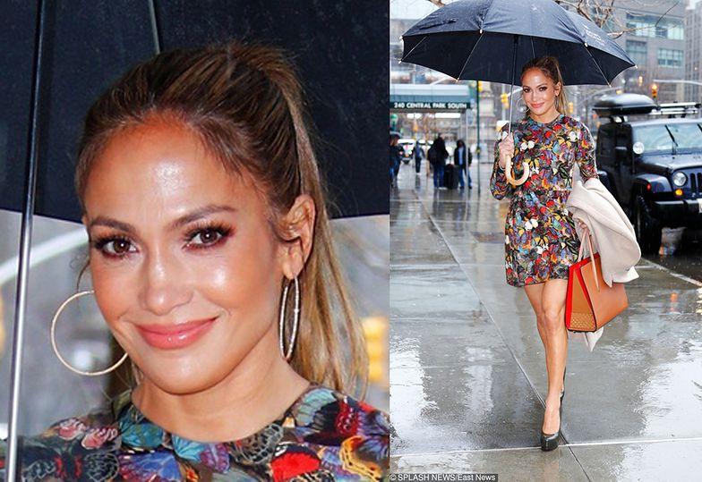 Jennifer Lopez w drodze na randkę
