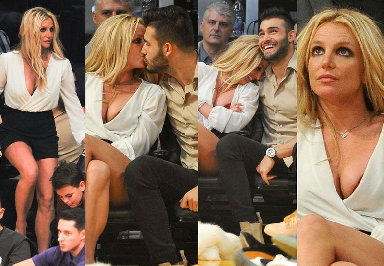 Britney Spears wybrała się z chłopakiem na mecz koszykówki