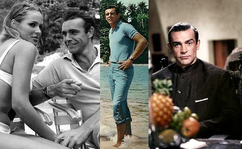 """Sean Connery, """"Doktor No"""", 1962 rok"""