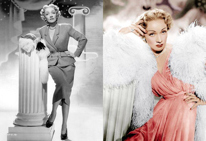 "1950: Marlene Dietrich w filmie ""Trema"""