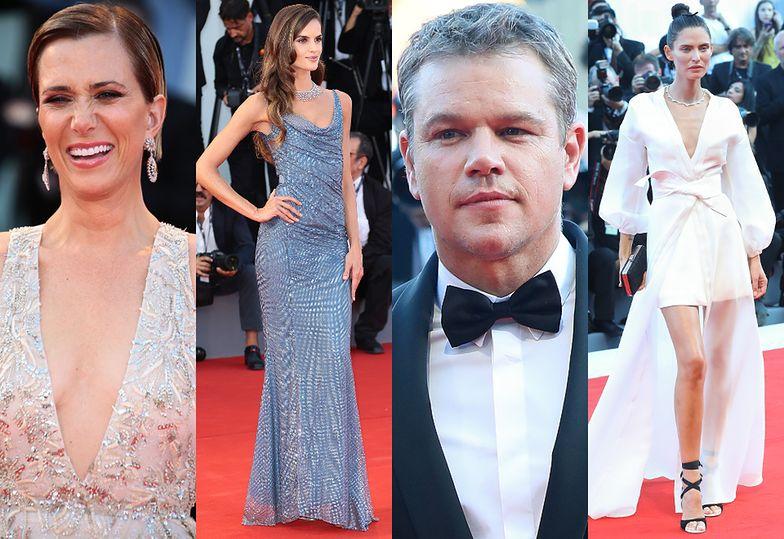 Kristen Wiig, Izabel Goulart, Matt Damon i Bianca Balti