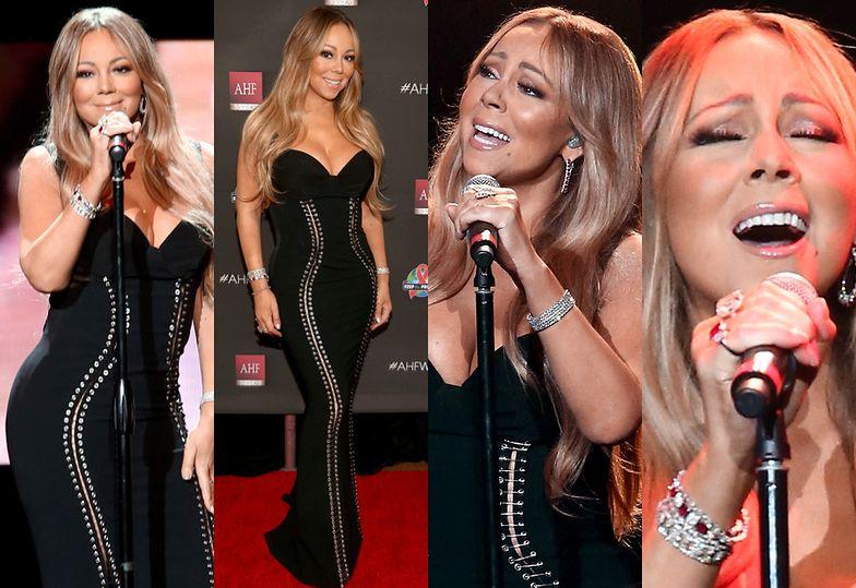 Szczupła Mariah na scenie w Los Angeles