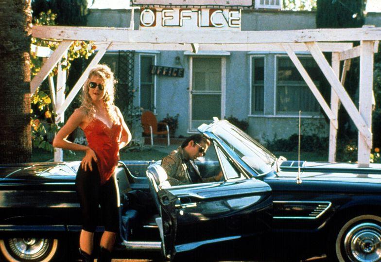 "Laura Dern i Nicolas Cage w filmie ""Dzikość serca"", 1990"
