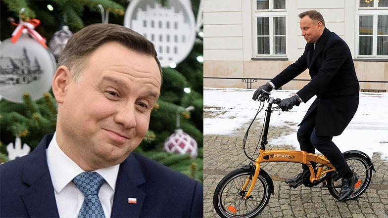 """Skromne święta u Andrzeja Dudy. """"Prezent ma być praktyczny i do 50 złotych"""""""