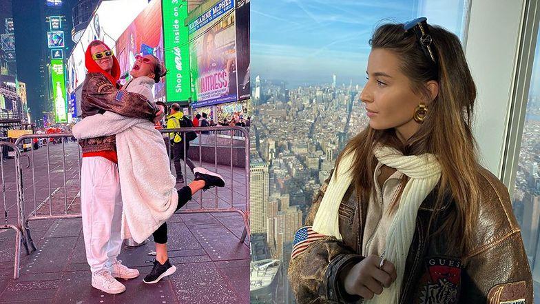 """Julia Wieniawa bawi się z Maciejem Musiałowskim w Nowym Jorku. Fani dociekają: """"To TWÓJ CHŁOPAK?"""""""