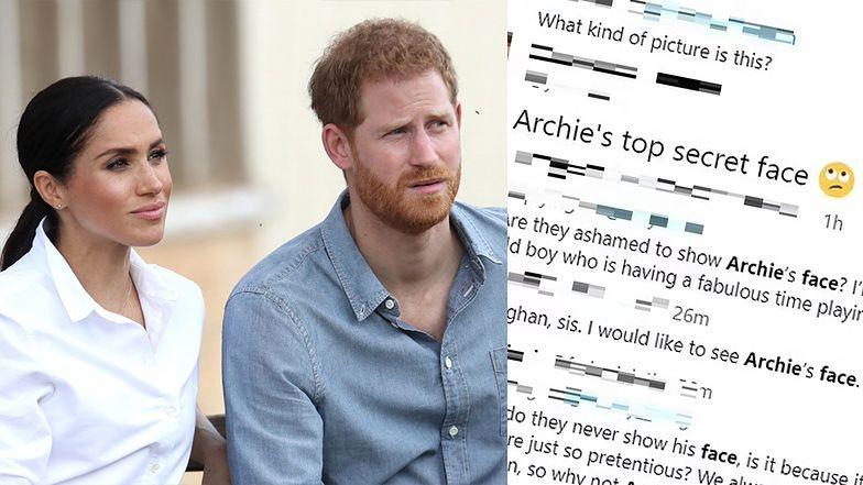 """Internauci są źli na Meghan i Harry'ego, bo nie pokazali twarzy Archiego: """"WSTYDZĄ SIĘ?"""""""