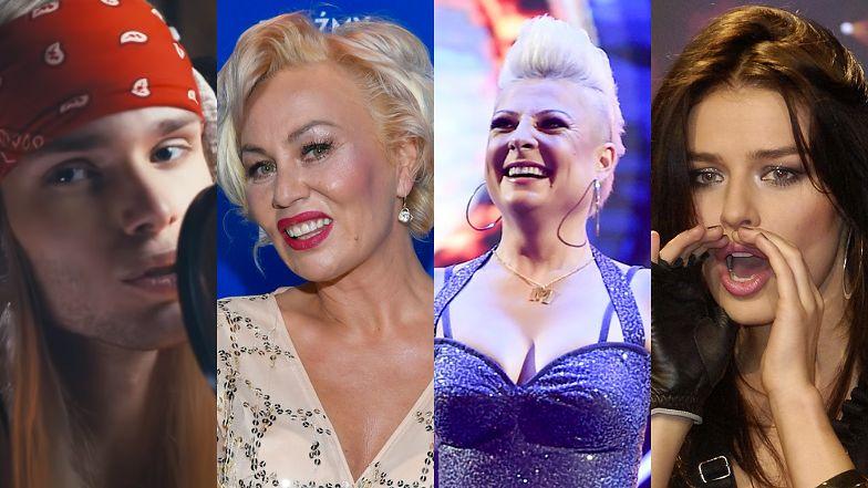 Eurowizja 2021. Te polskie gwiazdy chciały zaistnieć w konkursie w minionych latach. Pamiętacie je jeszcze? (ZDJĘCIA)