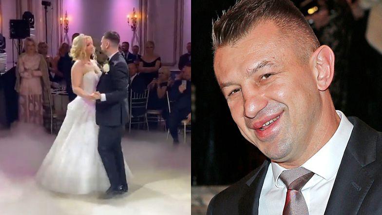 """Córka Tomasza Adamka wyszła za mąż! """"Bajkowy ślub"""" za 300 TYSIĘCY, impreza na zamku w New Jersey i transmisja online..."""