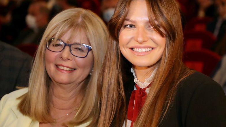 Anna Lewandowska z bratem na premierze FILMU MAMY, Marii Stachurskiej (ZDJĘCIA)