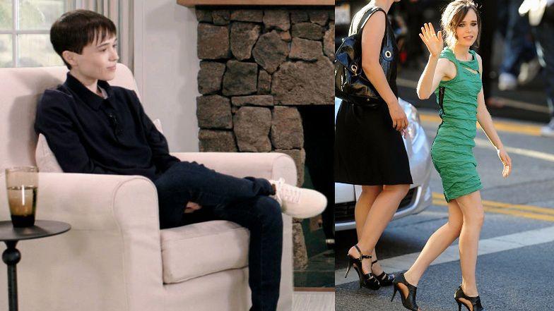 """Elliot Page gorzko o przymuszaniu do noszenia kobiecych ubrań i ATAKACH PANIKI. """"Po premierze ZEMDLAŁEM"""""""