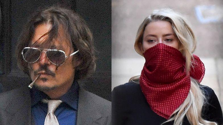 """Amber Heard twierdzi, że Johnny Depp skaleczył palec, ATAKUJĄC JĄ. """"Złapał ją za włosy i dusił przy lodówce w kuchni"""""""