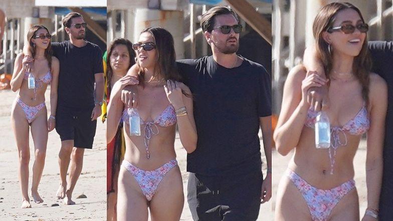 37-letni Scott Disick obejmuje 19-letnią Amelię Hamlin odzianą w skąpe bikini (ZDJĘCIA)