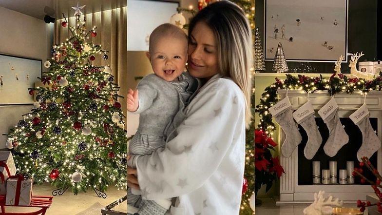 """Małgorzata Rozenek pokazuje udekorowany dom: """"Pierwsze święta Henia będą takie piękne"""" (ZDJĘCIA)"""