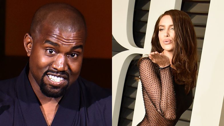 Kanye West PRZYŁAPANY na romansowaniu z Iriną Shayk! Plotki się potwierdziły!