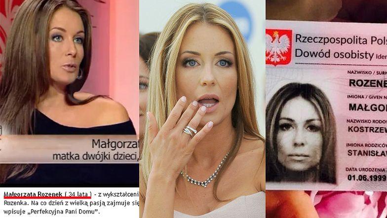 Małgorzata Rozenek obchodzi 43. urodziny! Tak celebrytka przez lata walczyła z oskarżeniami o KŁAMANIE w kwestii wieku