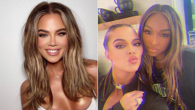 """Twarz Khloe Kardashian wciąż ewoluuje. Fani: """"Powinnaś naprawić to, co masz w środku, a nie NA ZEWNĄTRZ"""""""