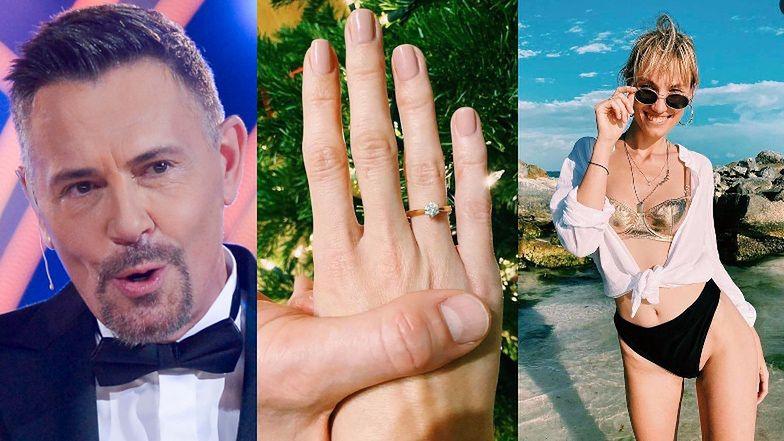 """TYLKO NA PUDELKU: Krzysztof Ibisz ZARĘCZYŁ SIĘ z uczestniczką """"Top Model""""! Jest pierścionek z brylantem i billboard w centrum Warszawy!"""