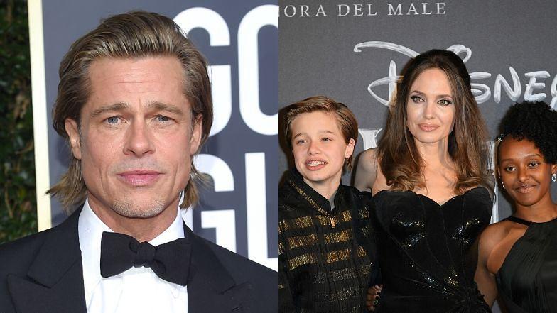 """Angelina Jolie rozstała się z Bradem Pittem DLA DOBRA DZIECI: """"Wciąż skupiam się na ich uzdrawianiu"""""""