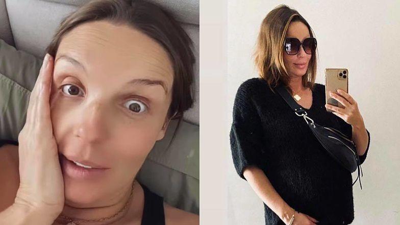 """Agnieszka Włodarczyk """"zachwyca się"""" urokami ciąży: """"Nogi mam opuchnięte JAK BALONY"""""""