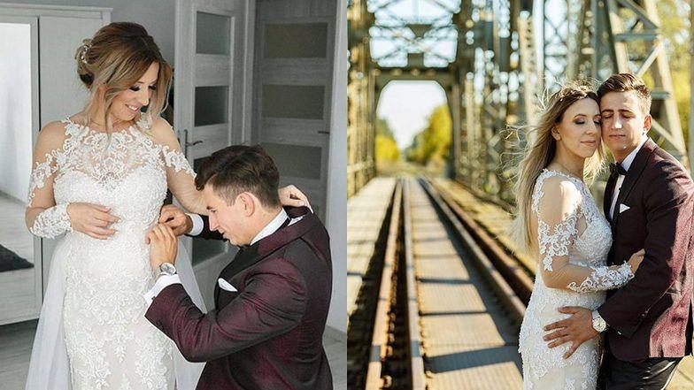 """Małgorzata Borysewicz z """"Rolnik szuka żony"""" świętuje 2. rocznicę ślubu.  """"Małżeństwo - jedność, siła, wsparcie""""  (FOTO)"""
