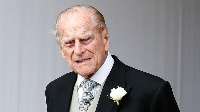 Książę Filip trafił do szpitala!