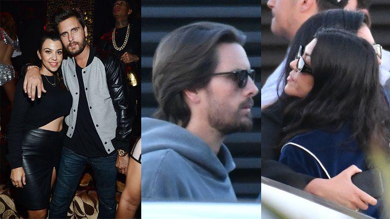 Kourtney Kardashian i Scott Disick przyłapani na wspólnym lunchu (ZDJĘCIA)