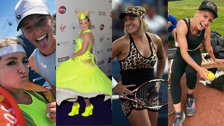 """Poznajcie Bethanie Mattek-Sands: deblową partnerkę Igi Świątek zwaną """"Lady Gagą tenisa"""" (ZDJĘCIA)"""