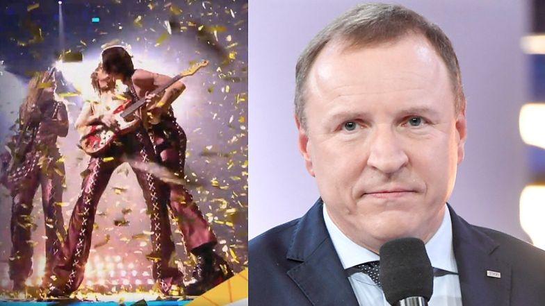 Eurowizja 2021. TVP pokazała POCAŁUNEK DWÓCH MĘŻCZYZN ze zwycięskiego zespołu Maneskin!