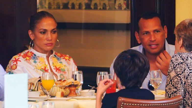 """Jennifer Lopez i Alex Rodriguez jednak się NIE ROZSTALI? """"Pracujemy nad niektórymi rzeczami"""""""
