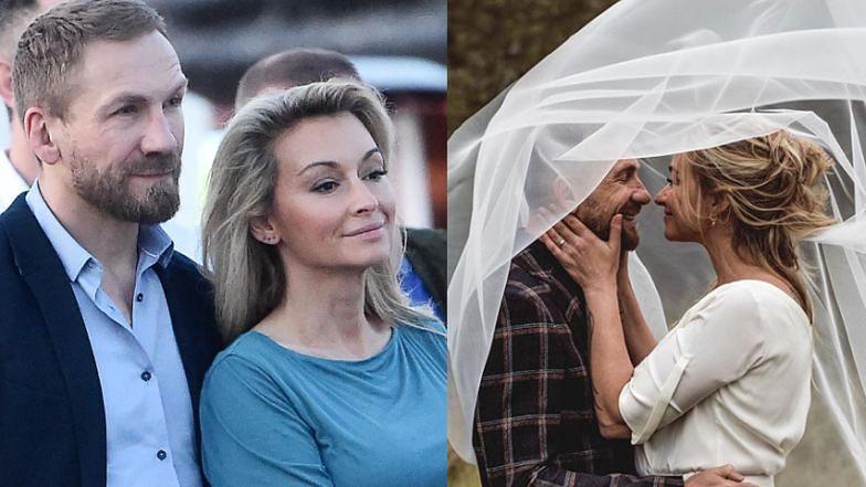 """Martyna Wojciechowska pokazała zdjęcia ze ślubu! """"Miłość w czasach zarazy"""""""