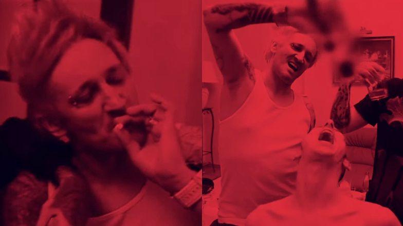 """Quebonafide i Michał Wiśniewski oddają się alkoholowej rozpuście w nowym teledysku: """"PIJE WÓDE I SŁUCHAM ICH TROJE"""""""