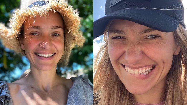 """Joanna Koroniewska w słomkowym kapeluszu posyła uśmiechy hejterom: """"Pozdrawiam tych, którym SŁOMA Z BUTÓW WYŁAZI"""" (FOTO)"""