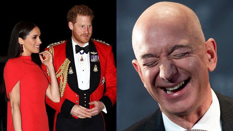 Meghan Markle i Harry chcą być jak Jeff Bezos? Zapłacą za ochronę 35 TYSIĘCY ZŁOTYCH dziennie...