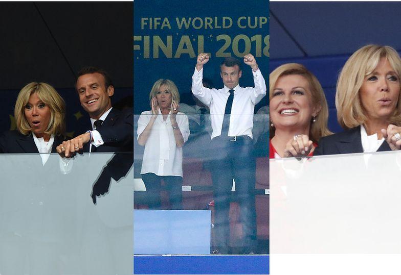 Mundial 2018: Francuski Macron czy chorwacka Grabar-Kitarović? Prezydenci oglądają finał mistrzostw