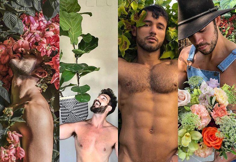 NOWY HIT Instagrama - półnadzy przystojniacy chwalą się swoimi... roślinami