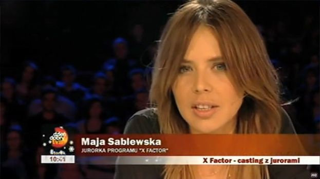 """Sablewska """"pobiera lekcje wymowy""""..."""