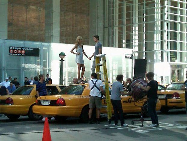 Anja kręci reklamę na Broadwayu! (FOTO)