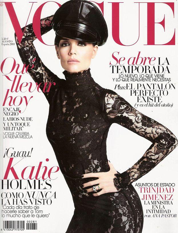 Katie Holmes jako... domina! (ZDJĘCIA)
