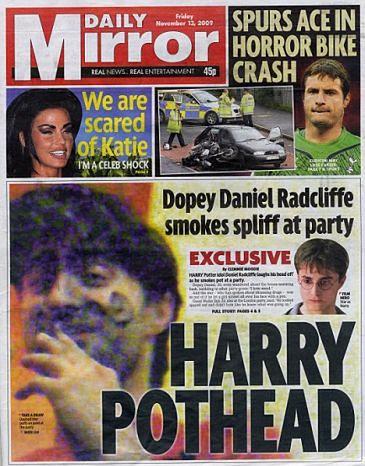 Radcliffe pali marihuanę!