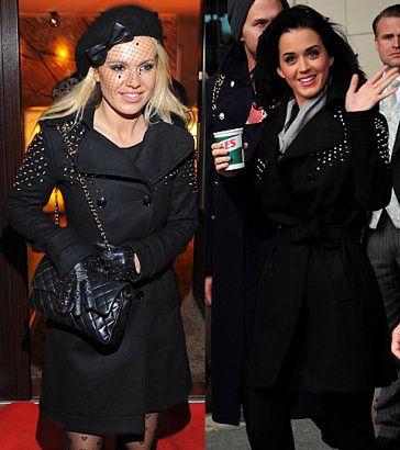 Doda i Katy Perry w tym samym płaszczu! (PORÓWNAJ!)