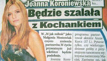"""""""Taniec z gwiazdami"""" - Koroniewska i Kochanek"""