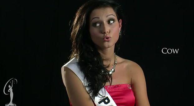 Miss Polonia próbuje mówić po angielsku! (WIDEO)