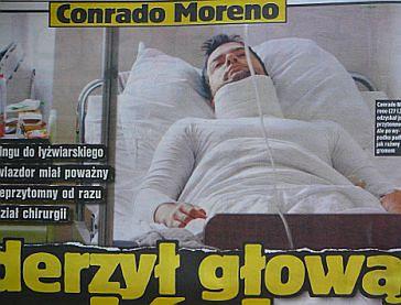 Moreno w szpitalu, Rutowicz wraca!